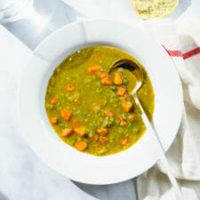 Easy Instant Pot Split Pea Soup